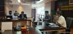 Kemenko Marves Bertemu dengan DPRD Kota Tegal Bahas Permen Nomor 59 Tahun 2020 tentang Pukat Tarik Cantrang