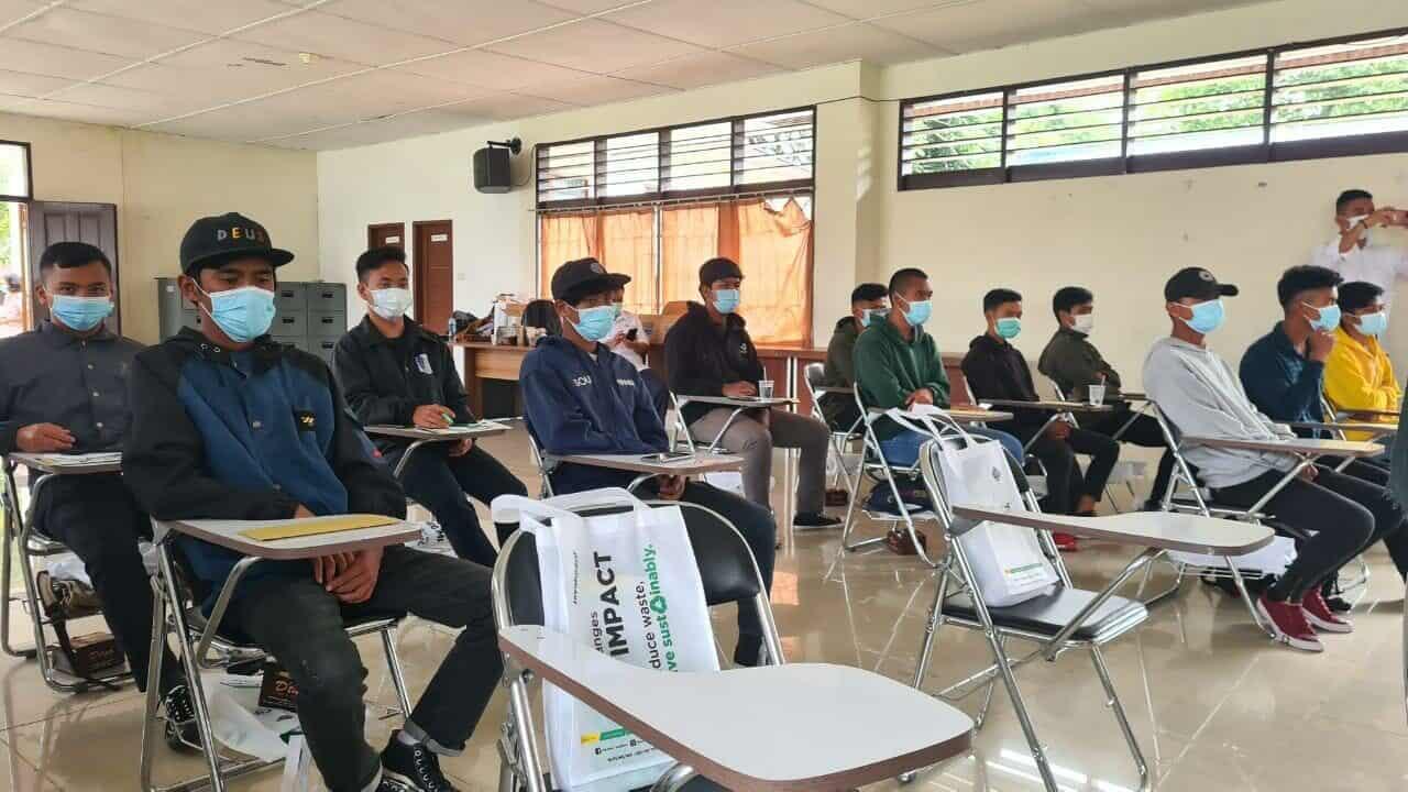 Dukung Kampanye Gernas BBI Februari, Kemenko Marves Monitor Pelatihan SDM Kreatif di Sidikalang