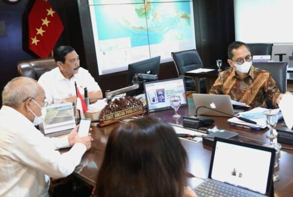 Menko Luhut: Pembangunan Infrastruktur di Jawa Timur Harus Disinergikan dengan Program Strategis Nasional