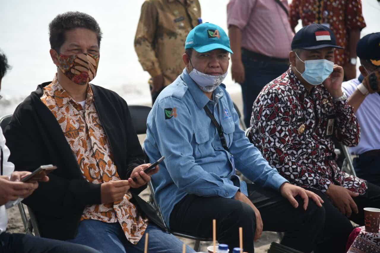 Kemenko Marves Kunjungi Lokasi Persemaian Mangrove Skala Besar dan Mangrove Center of Excellence di Brebes