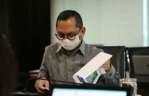 Vidcon Rakor Percepatan Pembangunan Infrastruktur Pengembangan Wilayah di Prov. Banten