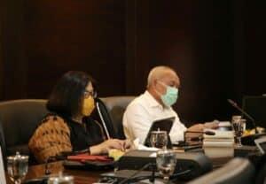 Menko Luhut Pimpin Video Conference Rapat Koordinasi Percepatan Pembangunan Infrastruktur Pengembangan Wilayah di Provinsi Banten
