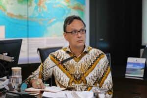 Menko Luhut Vidcon Rakor Penetapan Pesanggrahan Soekarno Parapat Sebagai Cagar Budaya
