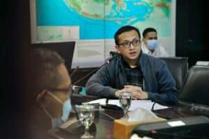 Menko Luhut PimpinRapat Koordinasi Pembahasan Pendanaan Jalan Tol Trans Sumatera