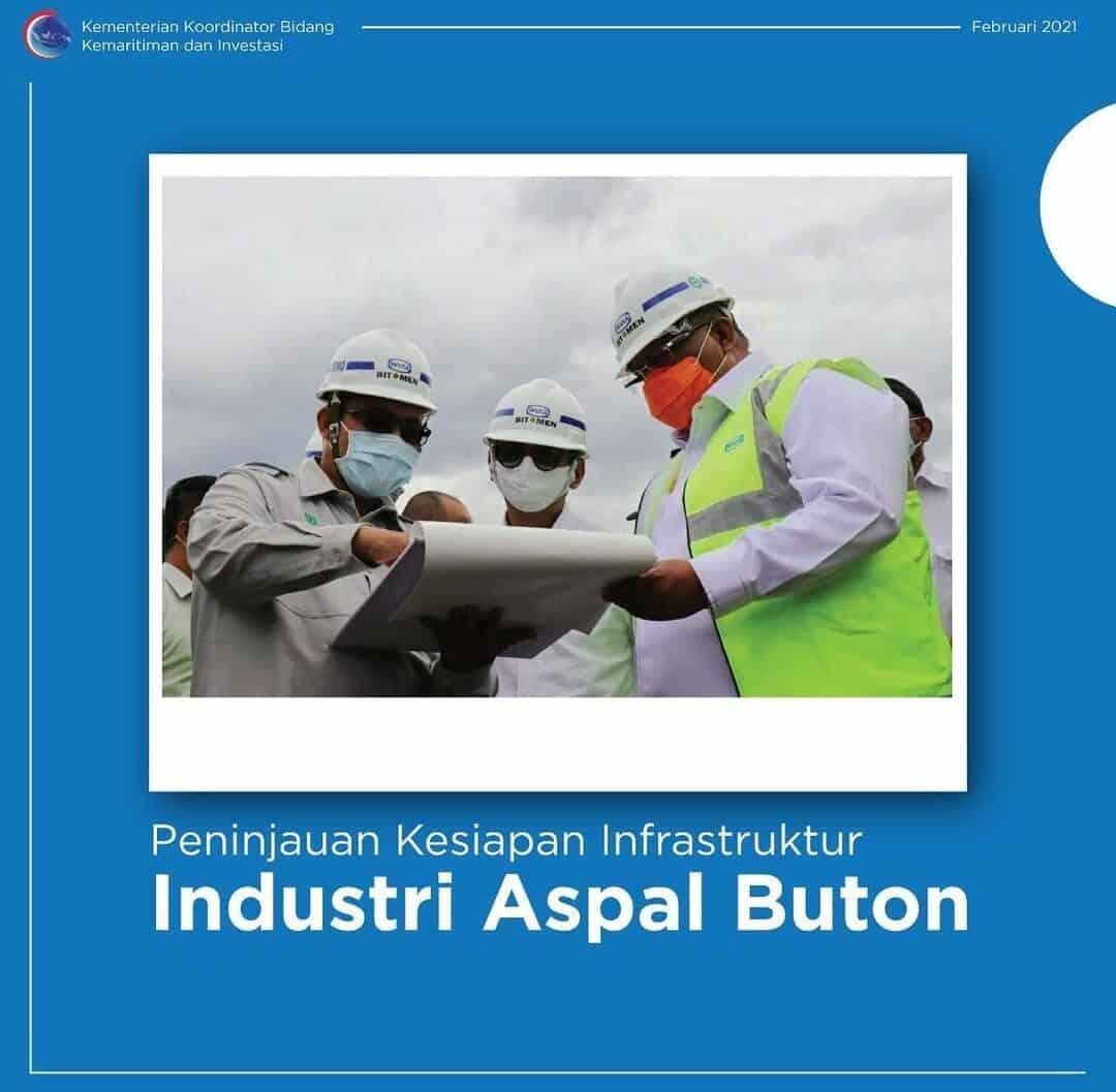 Peninjauan Kesiapan Infrastruktur Industri Aspal Buton