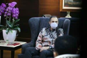 Menko Luhut Menerima Presiden Exxon Mobil Indonesia