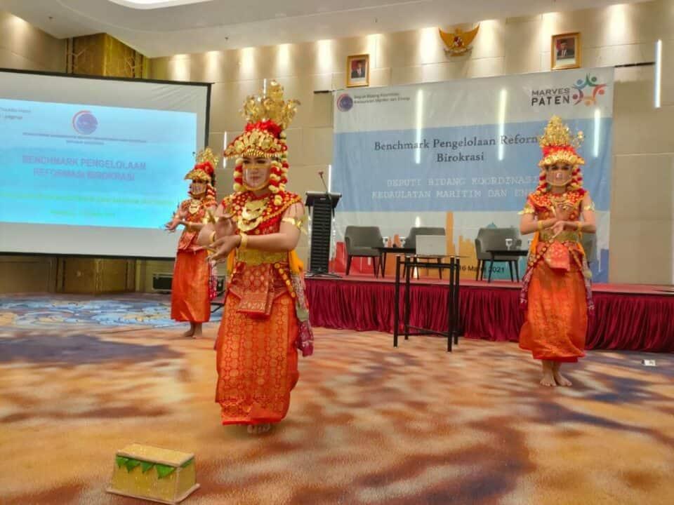 Siapkan Pelaksanaan Reformasi Birokrasi Tahun 2021, Deputi Bidang Koordinasi Kedaulatan Maritim dan Energi Lakukan Koordinasi dengan Pemerintah Sumatera Selatan
