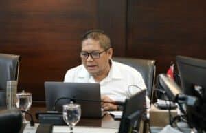 Vidcon Rakor Menko Tindak Lanjut Maluku Lumbung Ikan Nasional