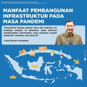 Manfaat pembangunan Infrastruktur pada masa Pandemi