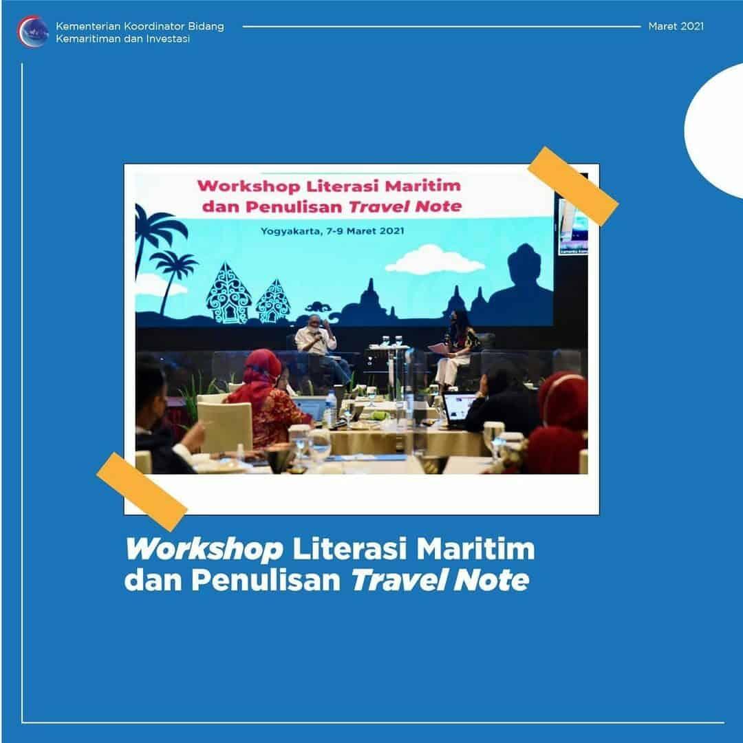 Workshop Literasi Maritim dan Penulisan Travel Note