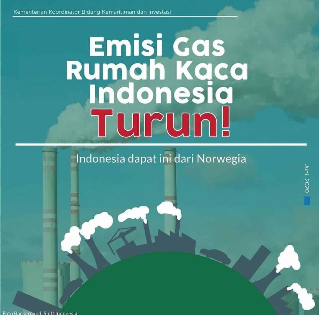 Emisi Gas Rumah Kaca Indonesia Turun