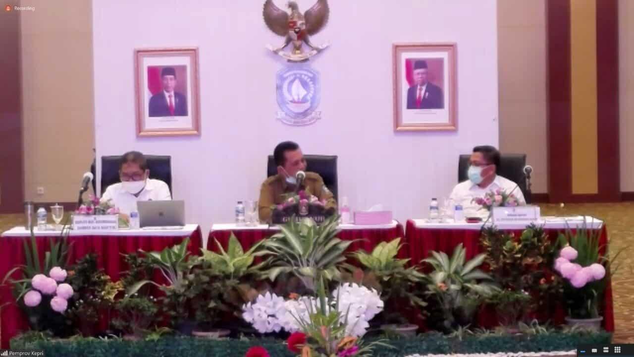 Adakan Rakor Bersama Kementerian dan Lembaga Terkait, Kemenko Marves Bahas Progres Proyek Terkait Isu Kemaritiman di Provinsi Kepulauan Riau