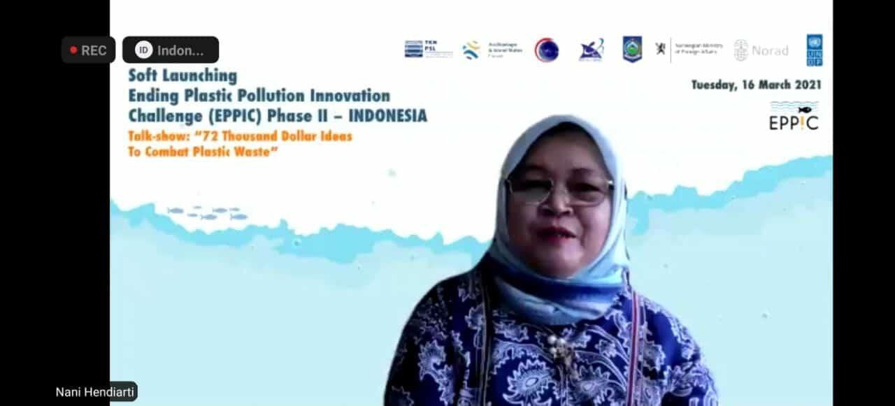 Deputi Nani Resmikan Kompetisi Inovasi Penanganan Sampah Plastik Internasional