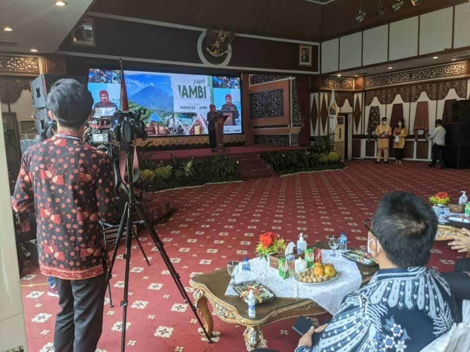 Menko Luhut Resmikan Jelajah Jambi, Optimis Siap Terima Kunjungan Wisatawan Dengan Protokol Kesehatan
