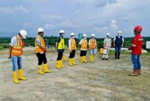 Pastikan Main Dam Selesai 2021, Kemenko Marves Tinjau Bendungan Karian