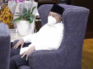 Menko Luhut Meeting dengan Gubernur Maluku Utara