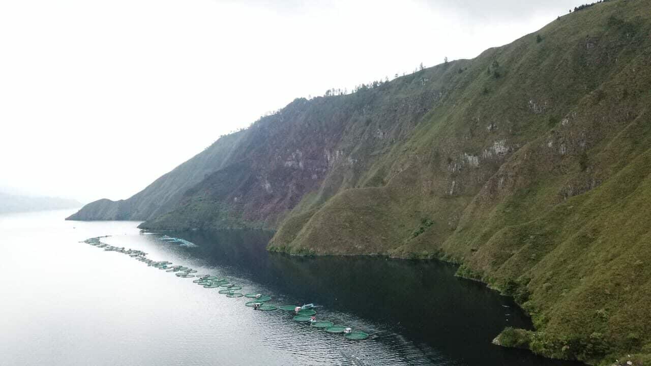 Tindaklanjuti Penataan Perikanan Budidaya di Danau Toba, Kemenko Marves Lakukan Identifikasi Keramba Jaring Apung