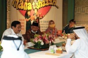 Menko Luhut Lunch w/ Menteri Suhail dan Menteri ESDM