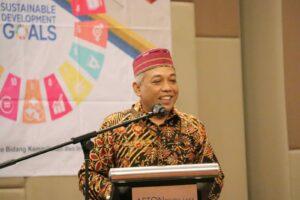 Wujudkan Komitmen Tujuan Pembangunan Berkelanjutan (TPB/SDGs), Kemenko Marves adakan Monev SDGs tahun 2021 serta Launching Buku Evaluasi TPB tahun 2020
