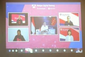 Menko Luhut Virtual Webinar Bukalapak Belajar Digital Bareng