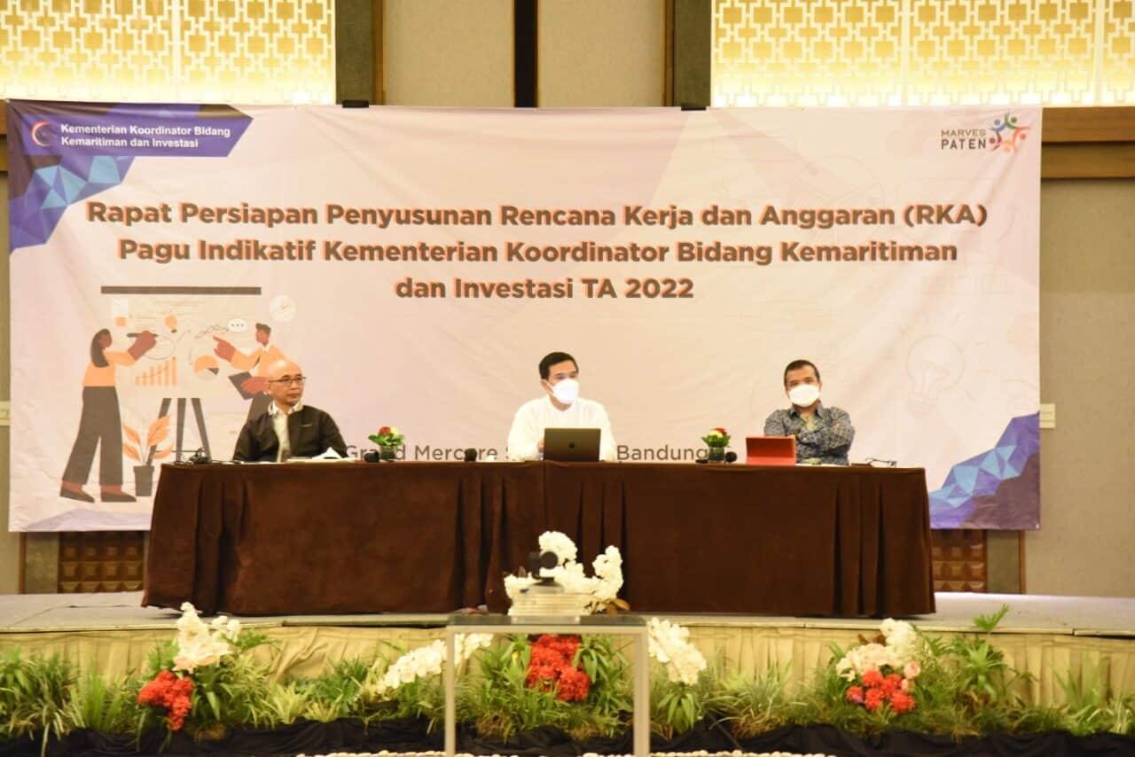 Kemenko Marves Gelar Rapat Persiapan Penyusunan RKA-KL Pagu Indikatif TA 2022 Untuk Tingkatkan Performa Struktur Anggaran
