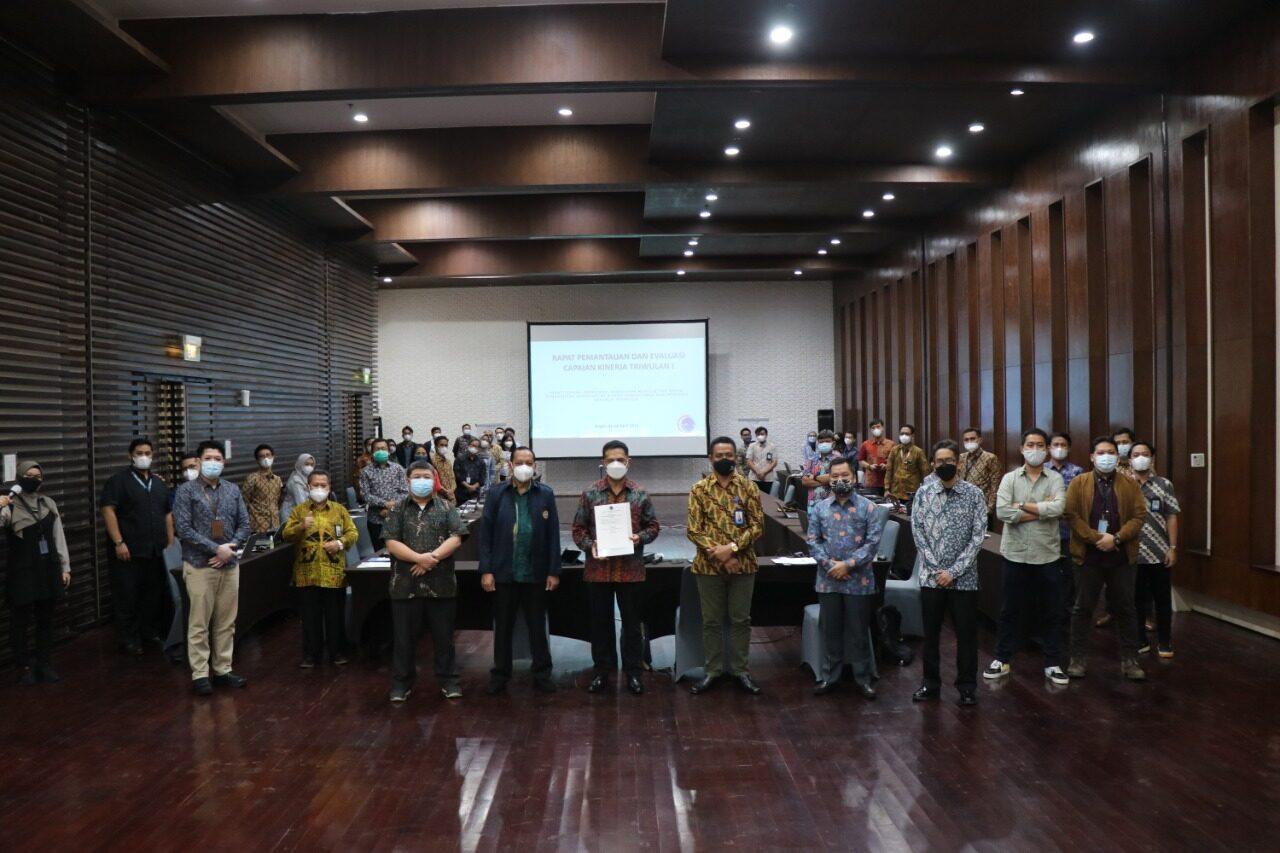 Dukung Pencapaian Kinerja yang Maksimal, Deputi Bidang Koordinasi Kedaulatan Maritim dan Energi Lakukan Rapat Pemantauan dan Evaluasi