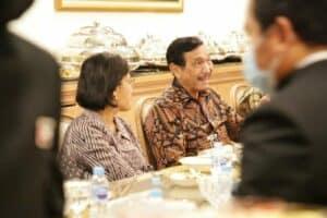 Dinner Menko Marves Bersama Mr. Suhail dan Delegasi UAE di Grand Hyatt