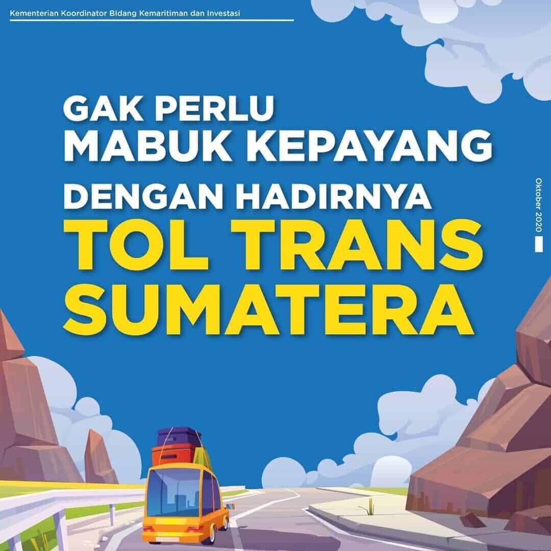 Hadirnya Tol Trans Sumatera