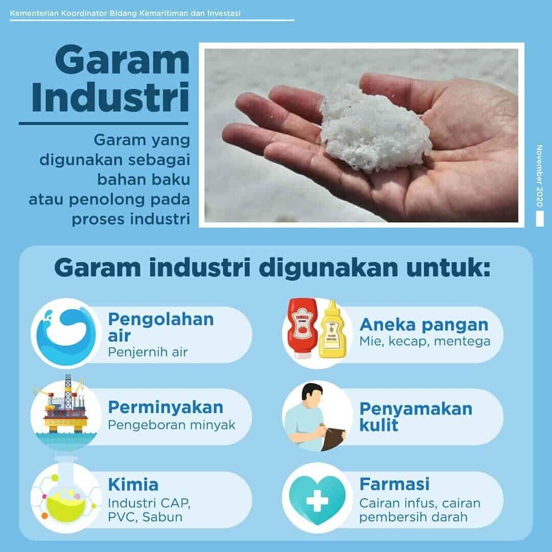 Kegunaan Garam Industri