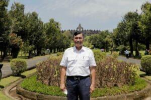 Menko Luhut Kunjungan ke Concourse Candi Borobudur