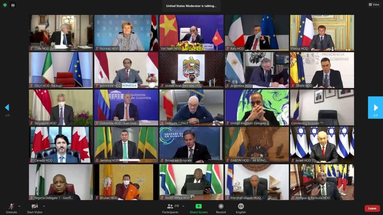 Hadapi Perubahan Iklim Dunia, Menko Marves Jadi Pembicara di Virtual Leaders Summit on Climate