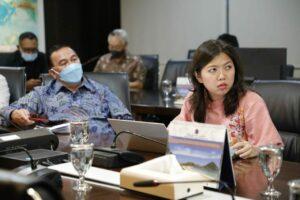 Menko Luhut Vidcon Rakor Progress Pengembangan Maluku Lumbung Ikan Nasional