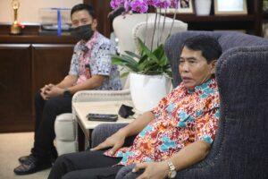 Menko Luhut Meeting dengan Gubernur Kaltara