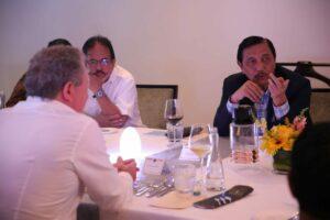 Dokumentasi Menko Dinner dengan Mr. Andrew Forrest di Ritz Carlton Kuningan
