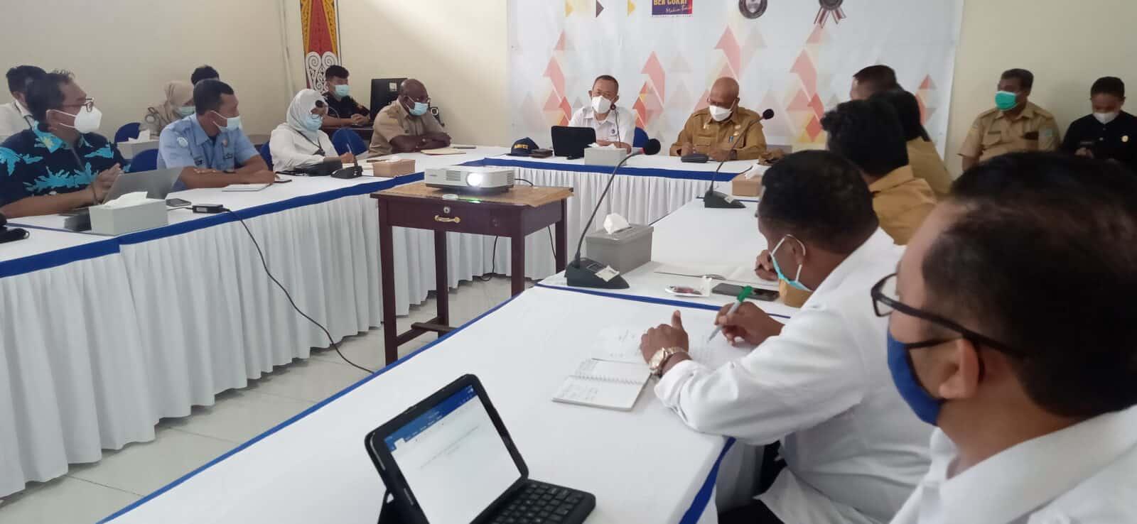 Temui Pemerintah Daerah dan Pelaku Bisnis Perikanan di Biak Numfor, Kemenko Marves Bahas Kesiapan Infrastruktur WPPNRI 717