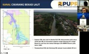 Kemenko Marves Koordinasikan Rencana Pembangunan Bendung Gerak dan Inland Waterway Kanal Cikarang – Bekasi – Laut (CBL)