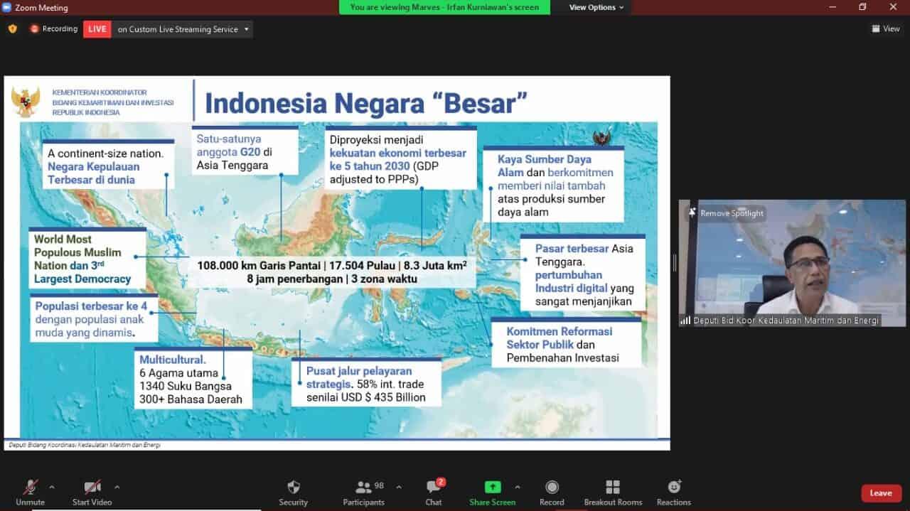 Lima Pilar Kebijakan Utama Guna Mewujudkan Indonesia Sebagai Poros Maritim Dunia