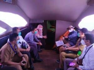 Kemenko Marves Kunjungi Rencana Lokasi Waduk Lepas Pantai Muara Sungai Cisadane