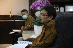 Menko Luhut Melaksanakan meeting dengan Pak Purbaya, Montara Task Force, Dirjen AHU Kemenkumham
