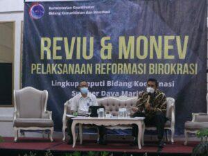 Deputi Bidang Koordinasi Sumber Daya Maritim Adakan Monitoring dan Evaluasi Pelaksanaan Reformasi Birokrasi