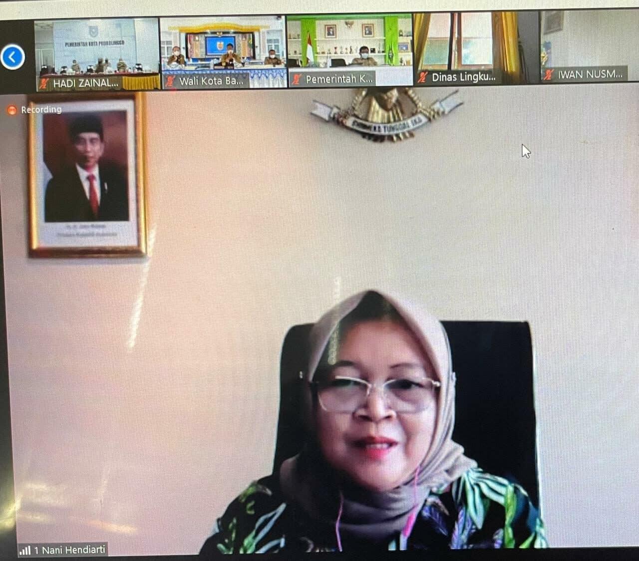 Bahas Target Pengurangan Sampah di Indonesia, Deputi Nani: Perlu Kolaborasi Uji Komprehensif