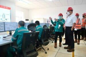 Menko Luhut Resmikan Smelter Nikel HPAL di Pulau Obi
