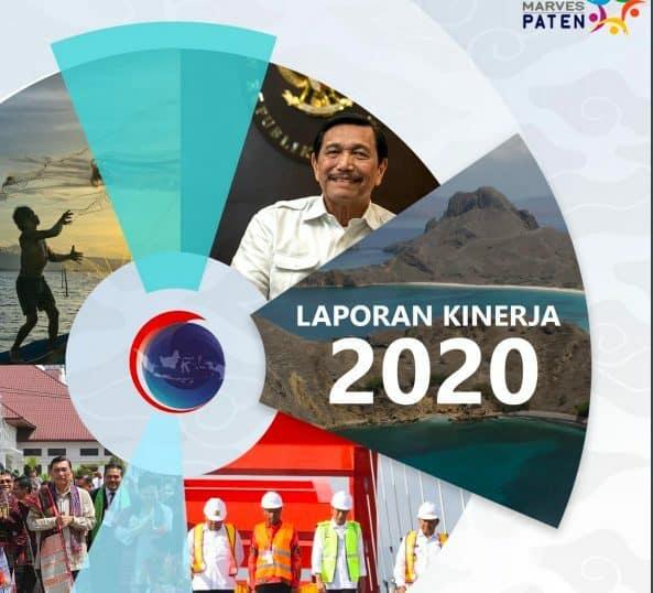 Laporan Kinerja Kemenko Marves Tahun 2020