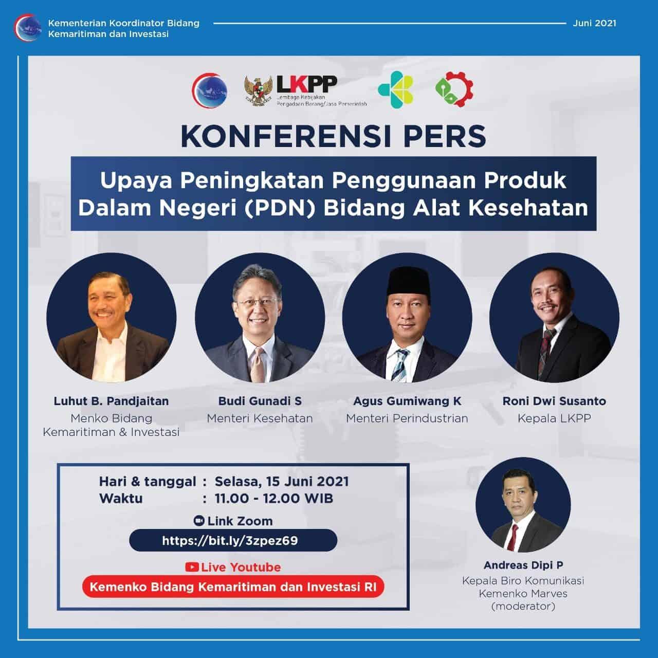 Pemerintah Tetapkan Tujuh Jurus Untuk Genjot Pemanfaatan Alkes Dalam Negeri Dalam Rangka Bangga Buatan Indonesia