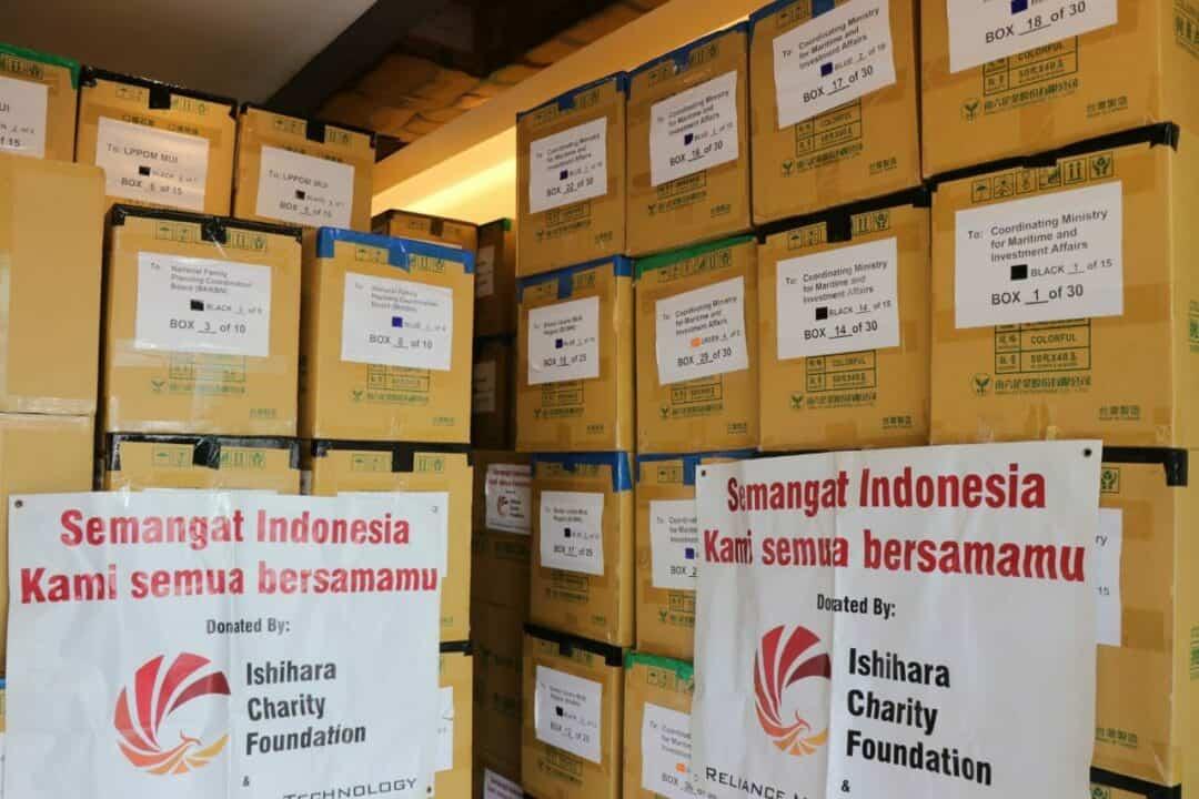 Kemenko Marves Salurkan Bantuan Alkes dari Ishihara Charity Foundation kepada Beberapa Lembaga Pemerintah dan Non Pemerintah di Indonesia